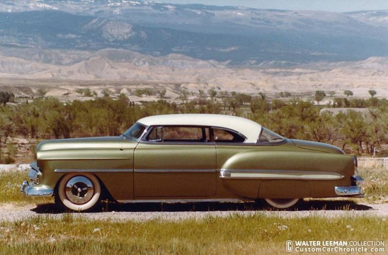 Chevy 1953 - 1954 custom & mild custom galerie - Page 10 11164610