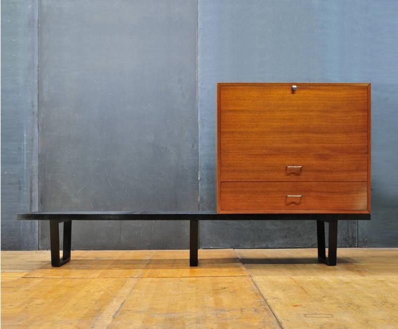 Bureaux & Mobiliers de bureaux 1950's - Office furnitures & Secretary 11188214
