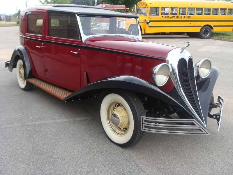 1935 BREWSTER TOWN CAR 295