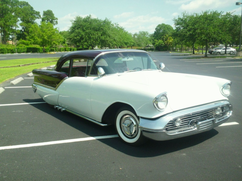 Oldsmobile 1955 - 1956 - 1957 custom & mild custom - Page 4 345