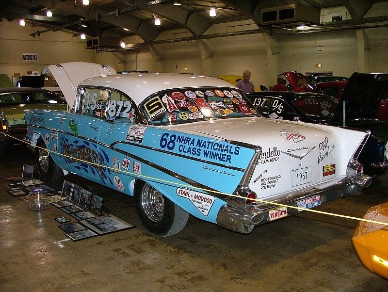 1950's car dragster 355