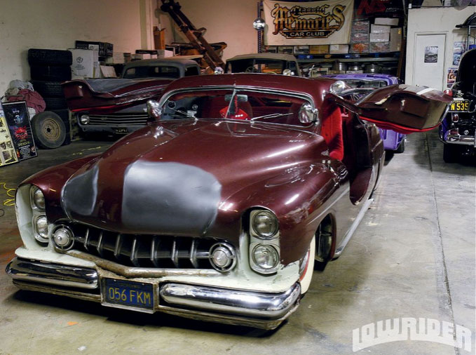 "1949 Mercury - Charlie Lopez's ""Nostalgic Sleeper""  410"