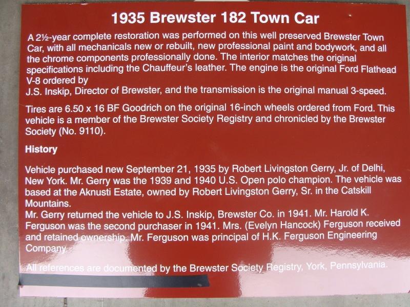 1935 BREWSTER TOWN CAR 467