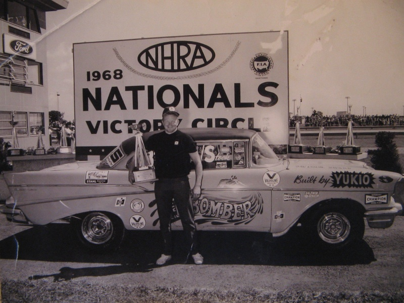 1950's car dragster 535