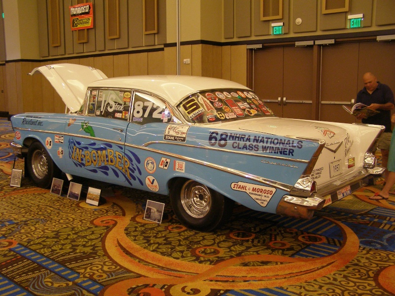 1950's car dragster 629