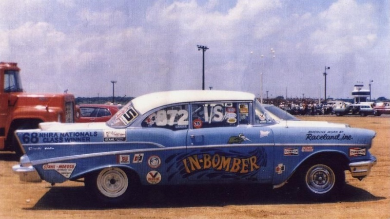 1950's car dragster 631