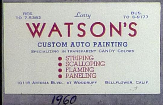 Photos d'époques de Larry Watson - Page 6 Atson_10