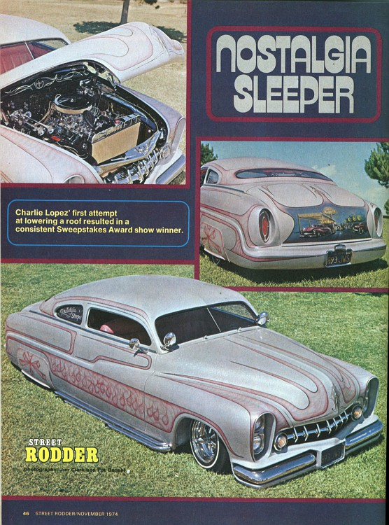 "1949 Mercury - Charlie Lopez's ""Nostalgic Sleeper""  Merc1-10"