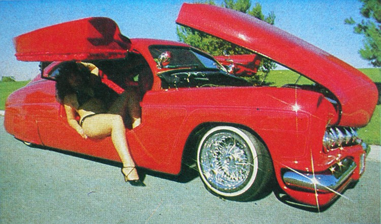 "1949 Mercury - Charlie Lopez's ""Nostalgic Sleeper""  P1010012"