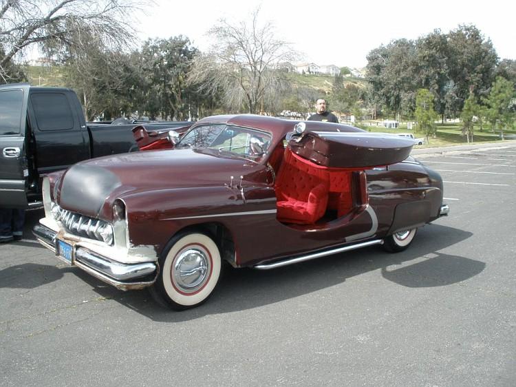 "1949 Mercury - Charlie Lopez's ""Nostalgic Sleeper""  P2280211"