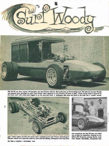 Surf Woody - George Barris - 1965 Rc11-611