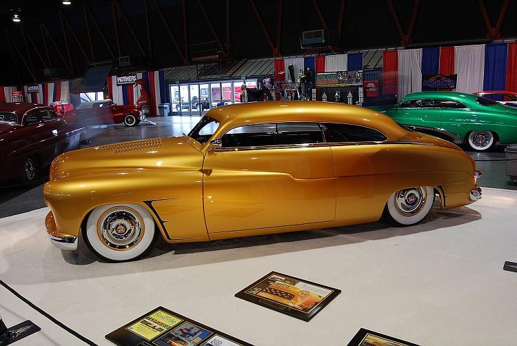 1950 Mercury - Goldrush -Dave Baker - Roseville Rod and custom Sacram32