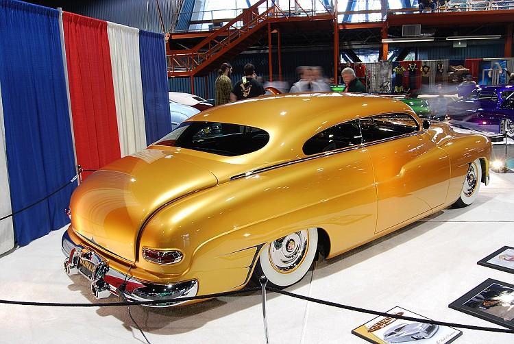 1950 Mercury - Goldrush -Dave Baker - Roseville Rod and custom Sacram33