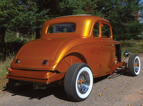 Passenger Car Chrome 1934 Ford Replacement Radiator Cap