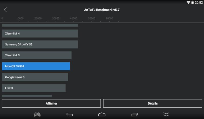 Mise à jour Firmware Q9 Screen10