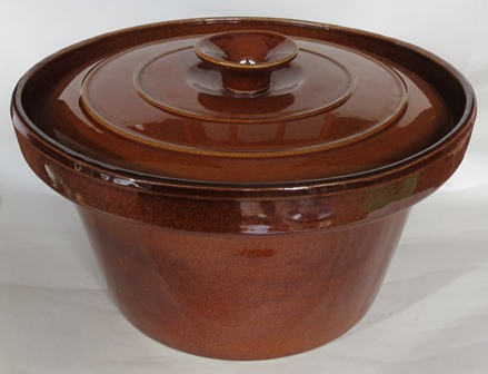 Temuka crock pot with LID for gallery  Temuka10