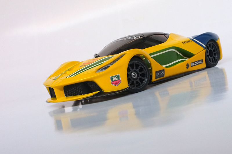"La Ferrari ""Ayrton Senna"" 00110"