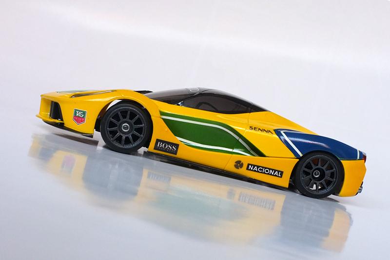 "La Ferrari ""Ayrton Senna"" 00710"