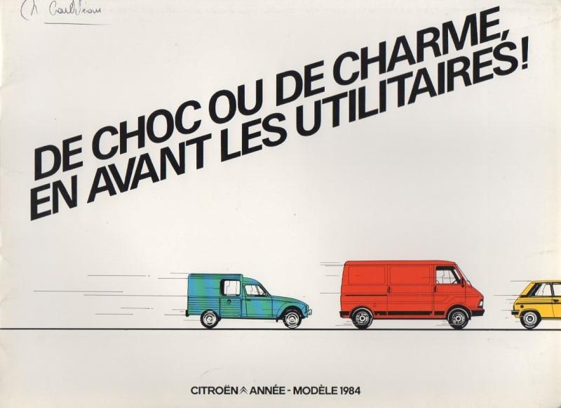 """Brochure publicitaire """" de choc ou de charme, en avant les utilitaires"""" Img00310"""