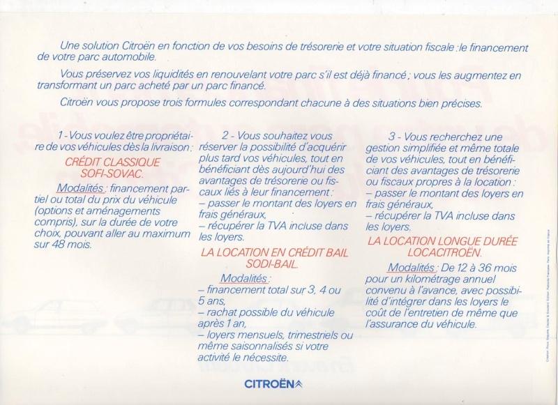 """Brochure publicitaire """" de choc ou de charme, en avant les utilitaires"""" Img00510"""