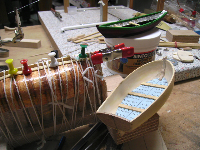 """BISQUINE sur la base """"La Cancalaise"""" Billing Boats 1/40°  - Page 5 Bild0044"""