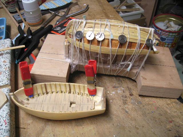 """BISQUINE sur la base """"La Cancalaise"""" Billing Boats 1/40°  - Page 4 Bild0046"""