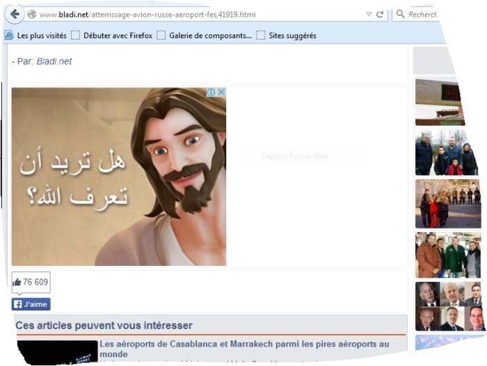 Bladi.net fait la promotion du catholicisme Bladi_10