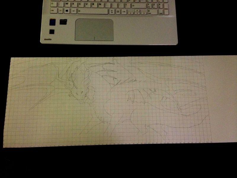 Dragon aux pastels  Drago110