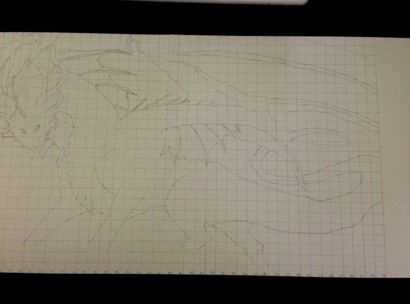 Dragon aux pastels  Dragon11