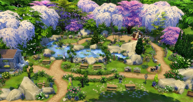 [Inspiration] Sims 4 : les parcs L0k18c10