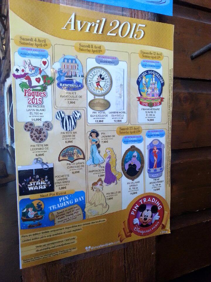 Le Pin Trading à Disneyland Paris - Page 3 10314711