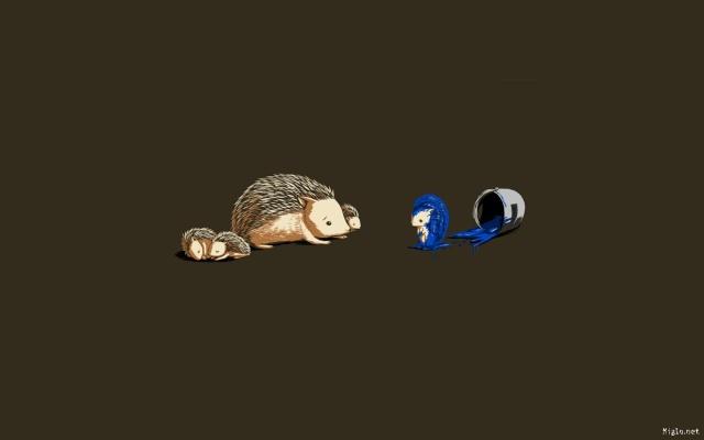 Images humoristiques ayant lien avec le jeu vidéo - Page 8 Sonic-10