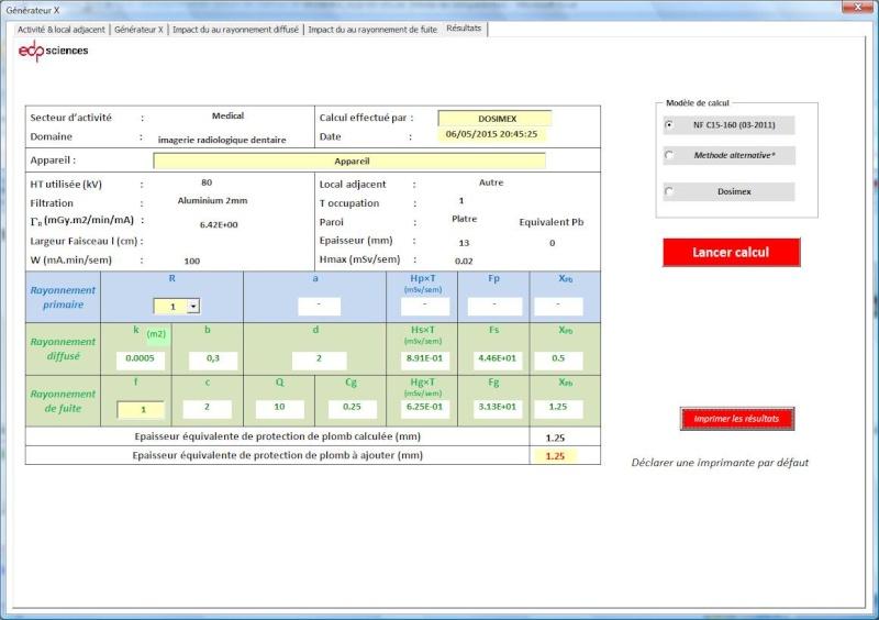 PCR Dentaire > aide pour le calcul analytique sous DICOMEX - Page 2 Gx10
