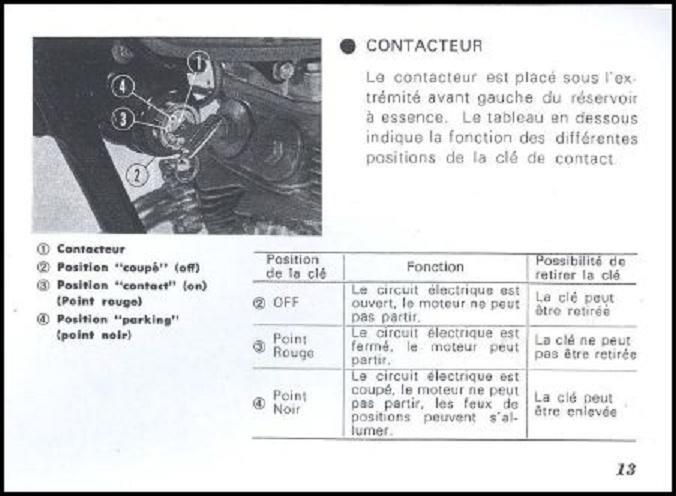 Nouvelle CB125 K4 - Page 3 Contac10