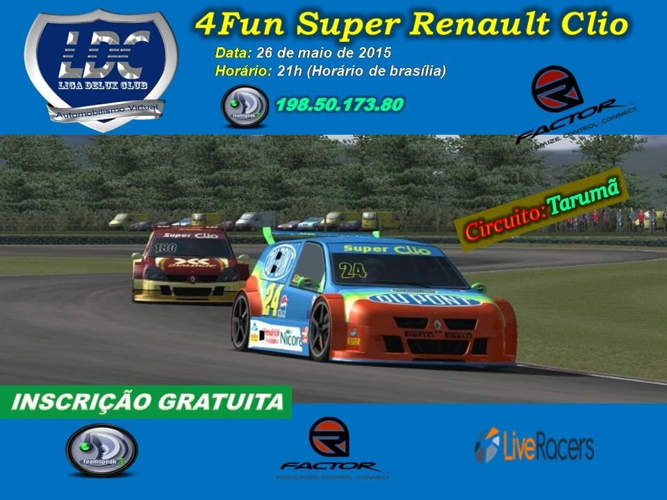 Liga Delux Club - 4Fun Super Clio (rFactor - 26/maio/2015) 4fun18