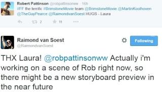 STORYBOARD ARTIST RAIMOND VAN SOEST TWEETS ABOUT WORKING ON BRIMSTONE 2011