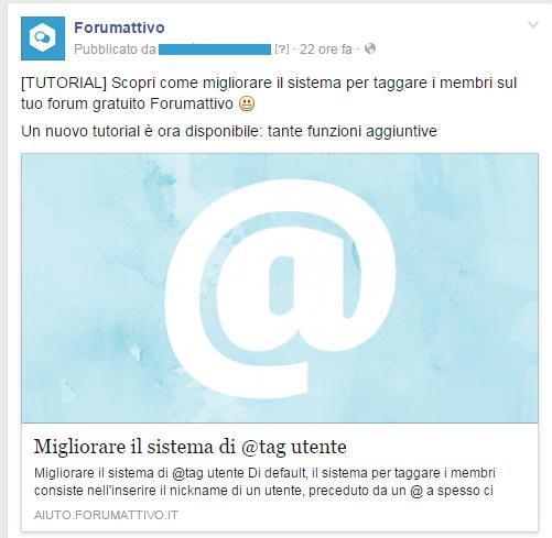 Hashtag twitter su Forum dei Forum: Aiuto per Forumattivo Foruma11