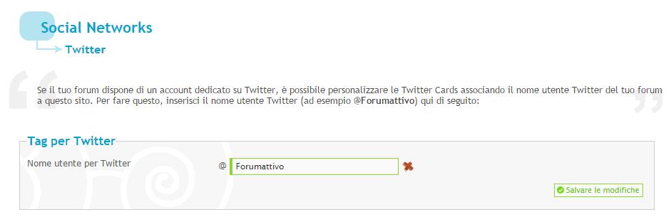 Come utilizzare una Twitter Card sul tuo forum Twitte11