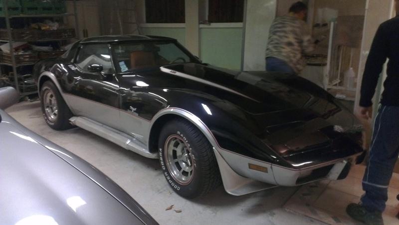 debut de la restauration de ma corvette c3 25eme 110