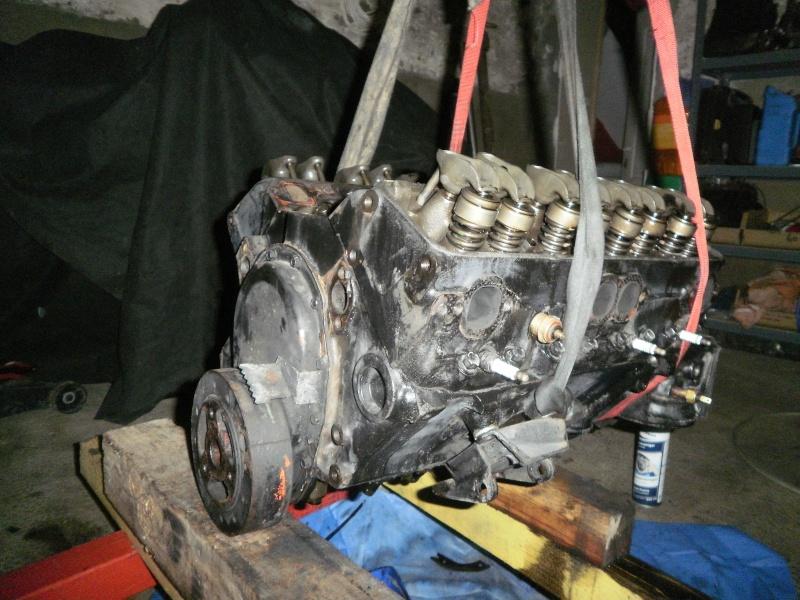 debut de la restauration de ma corvette c3 25eme 1110