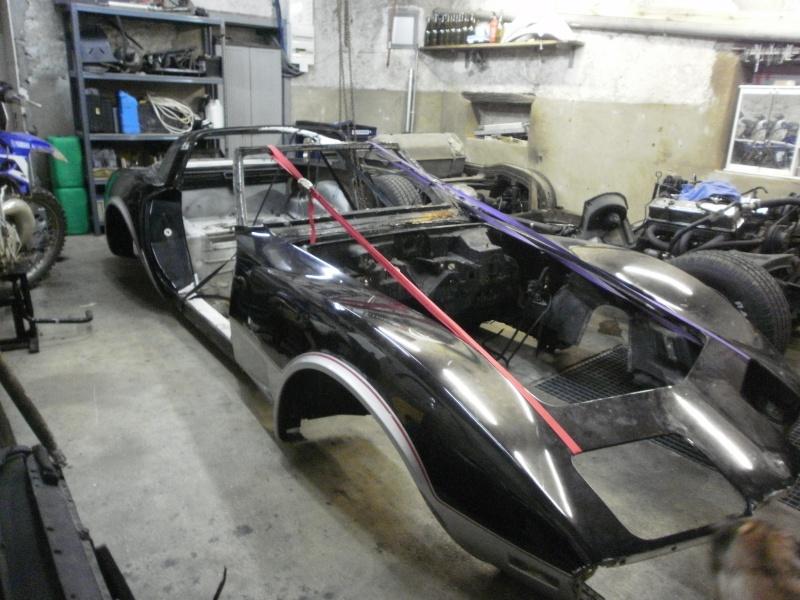 debut de la restauration de ma corvette c3 25eme 610