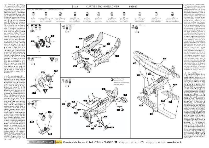 CURTISS SBC-4 Helldiver 1/72e ref 80285 80285_10