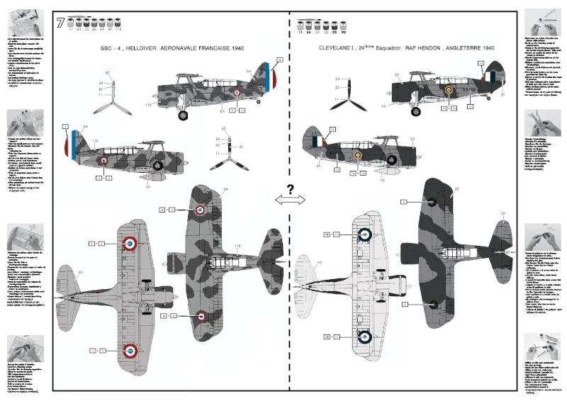 CURTISS SBC-4 Helldiver 1/72e ref 80285 80285_12