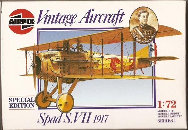 """[Airfix] SPAD VII """"Vieux Charles"""" 1/72e Boite_10"""