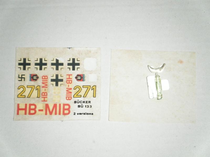 """BÜCKER Bü133 """"Jungmeister"""" 1/72e ref 078 Dscf0317"""