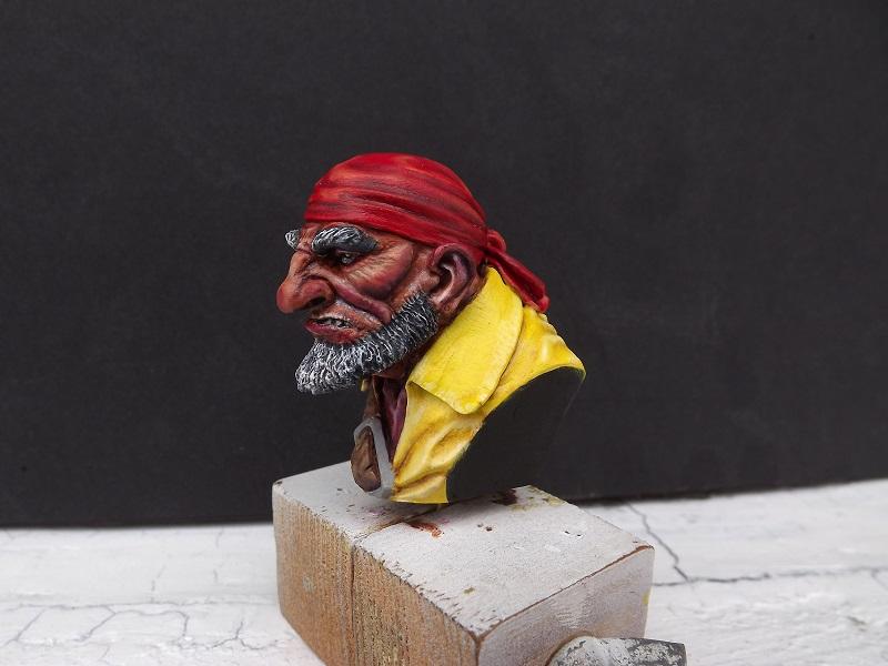 buste de pirate Pirate12