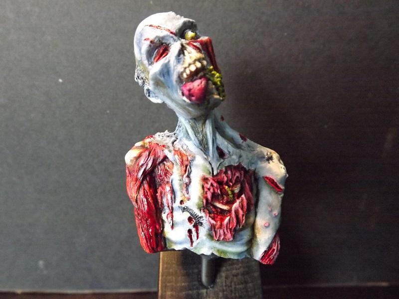 buste de zombie Z113