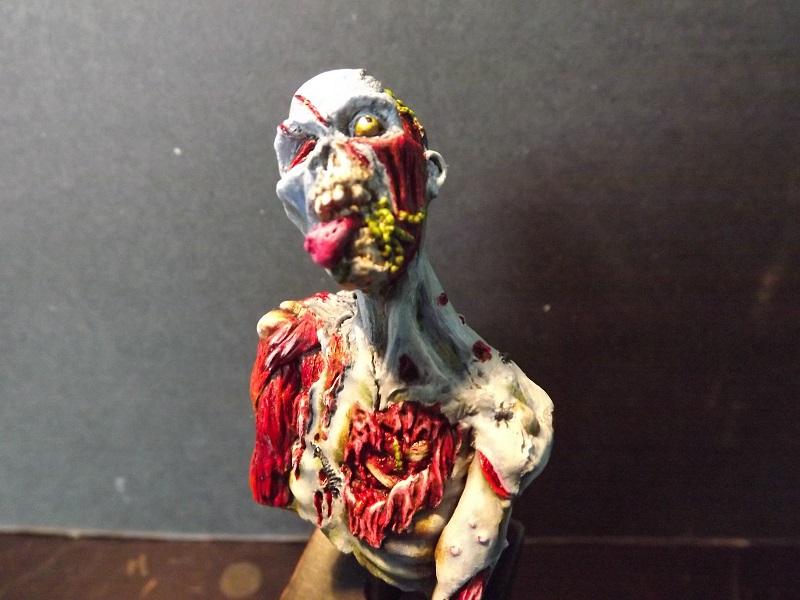 buste de zombie Z512