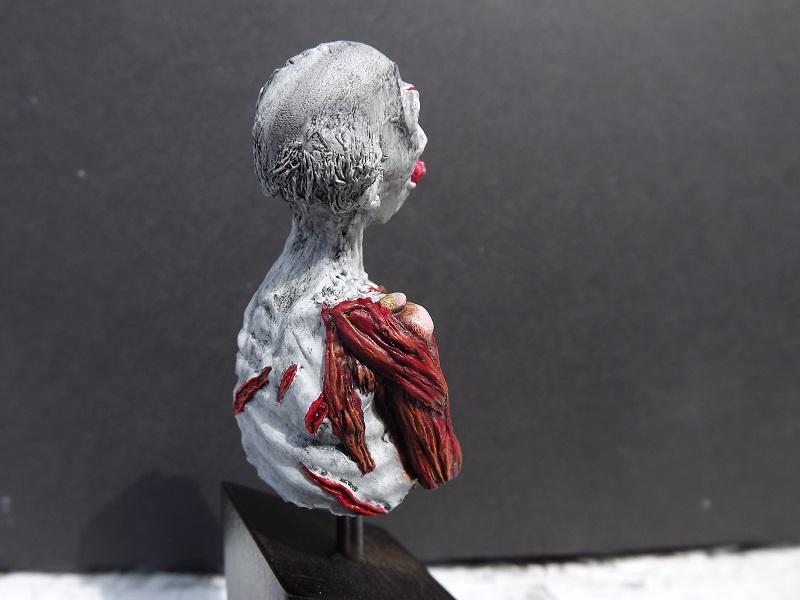 buste de zombie Zombie11