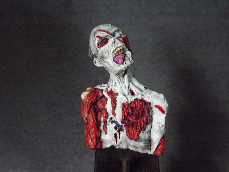 buste de zombie Zombie12
